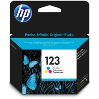 Картридж HP F6V16AE (№123) Tri-Colour