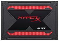 SSD диск 480 Гб Kingston HyperX FURY SHFR200B/480G RGB
