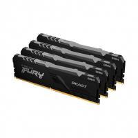 Оперативная память 32GB KIT (4X8GB) DDR4 2666MHz Kingston FURY Beast (KF426C16BBK4/32)