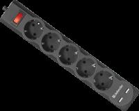 Сетевой фильтр Defender DFS 751 (99751)