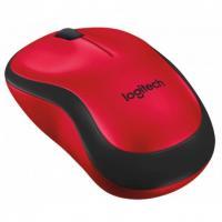 Мышь Logitech Silent Wireless Mouse M220 910-004880 Red