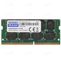 Оперативная память 16GB DDR4 2666MHz GOODRAM (GR2666S464L19/16G) для ноутбуков
