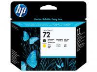 Печатающая головка HP C9384A (№72) Matte black and yellow
