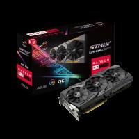 Видеокарта ASUS AMD Radeon RX580 ROG STRIX (ROG-STRIX-RX580-O8G-Gaming)