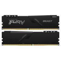 Оперативная память 16GB KIT (2X8GB) DDR4 3200MHz Kingston Fury Beast (KF432C16BBK2/16)