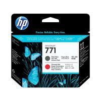 Печатающая головка HP 771 Matte Black & Chromatic Red (CE017A)