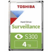 Жесткий диск 4 ТБ HDD TOSHIBA S300 Surveillance HDWT840UZSVA
