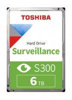 Жесткий диск 6 ТБ Toshiba S300 HDWT860UZSVA